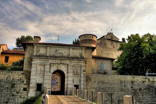 Bresciacity - Entrata del Castello da te.