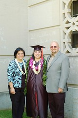 The Proud Parents (GirlOnAMission) Tags: family mom amber graduation may don 2009