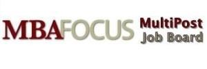 MBA Focus MultiPost Job Board