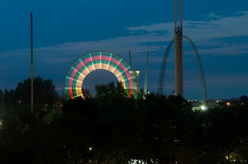 Ferris Wheel at La Ronde (Six Flags) in Montreal