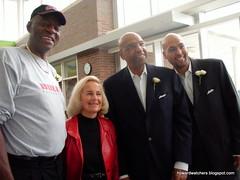 Bob Love, Mickey Norton, Warner Saunders and Warner Saunders Jr.