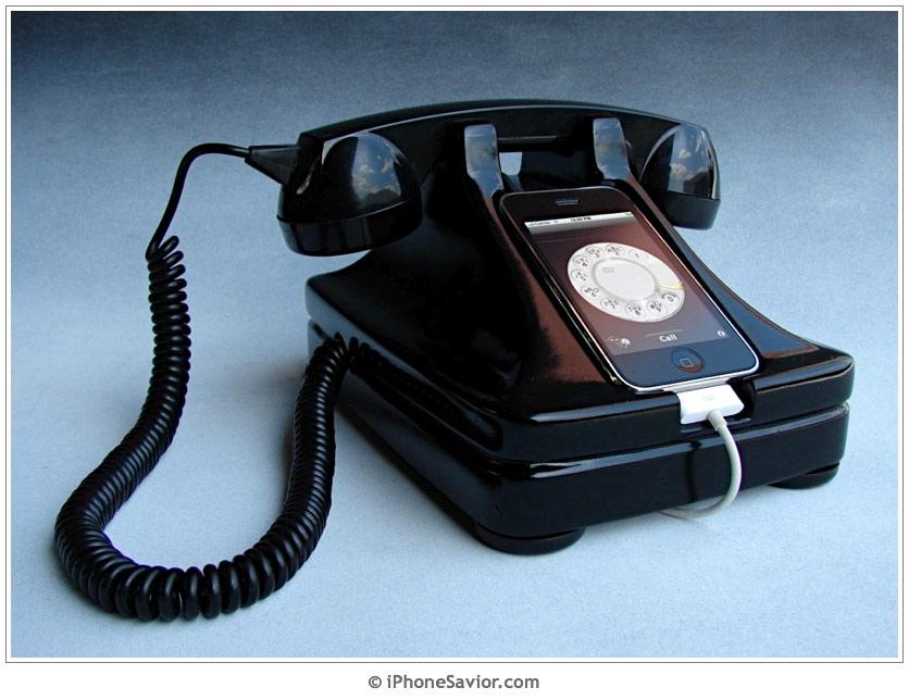 iRetrofone Base for iPhone