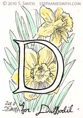 D is for Dafodil