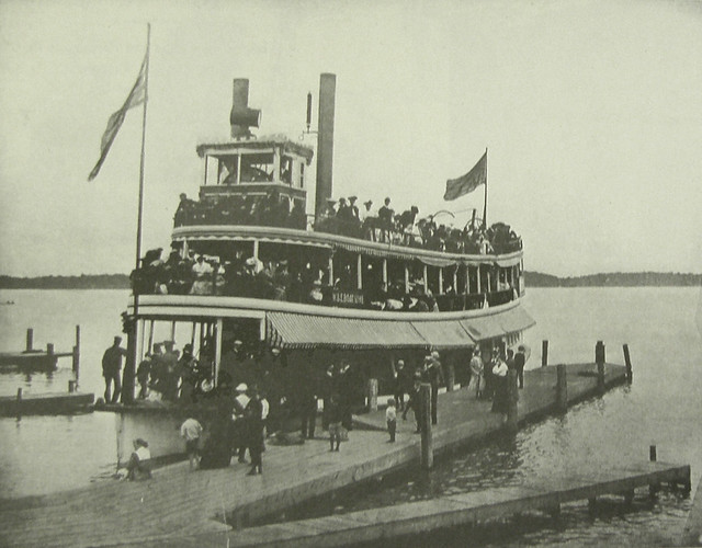 The fastest steamer on the lake