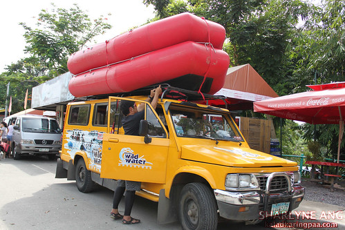 Jeepney Going to Davao River