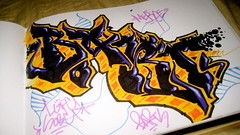 Barts LGF SOB (El Funky Taladro) Tags: santa county orange black graffiti book ana los angeles barts sessions sob merce lgf knd