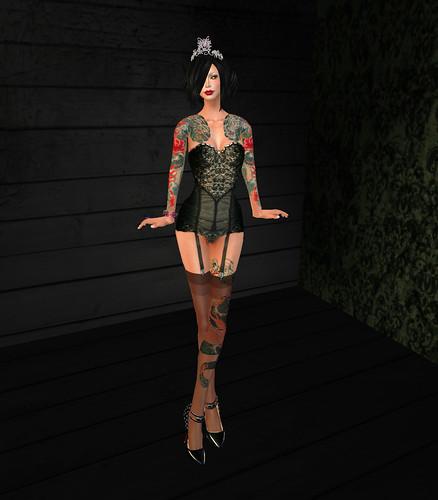 Birthday lingerie front