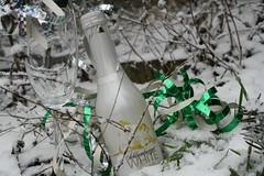 Schlumberger White (anuwintschalek) Tags: carnival schnee winter white snow macro glass garden austria bokeh champagne klaas february lumi 2009 fasching sekt karneval kodu aed schlumberger talv weis wienerneustadt valge neljapev schaumwein canoneos1000d ooperiball ampanja