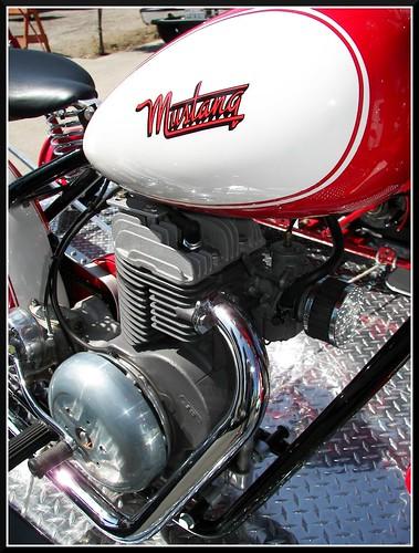 mustang motorcycle tank