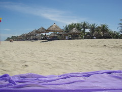 Beach Huts, Hoi An, Vietnam