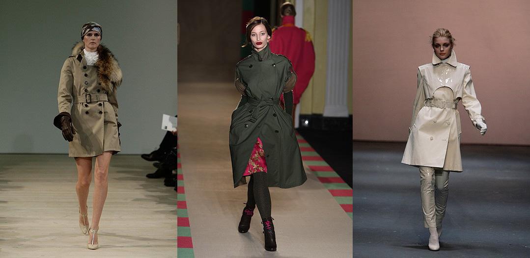 Trench Coats at London Fashion Week