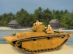 Alligator (uwabakiboy) Tags: model tank wwii ww2 pto amphibious worldwartwo amtrac davidmitchell lvt lvta1