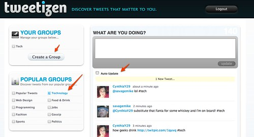 Tweetizen - Discover Tweets That Matter To You. by you.