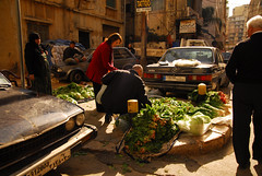 Corner vegetable market, Beirut (craigfinlay) Tags: street lebanon fruits vegetables december market produce beirut 2008 selling vendors