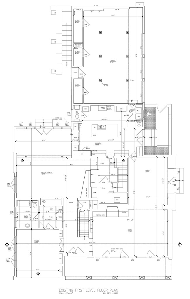 1st level floor plan