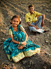 Little Sister and brother... (P.C.P) Tags: sister brother tamilnadu pcpsk59