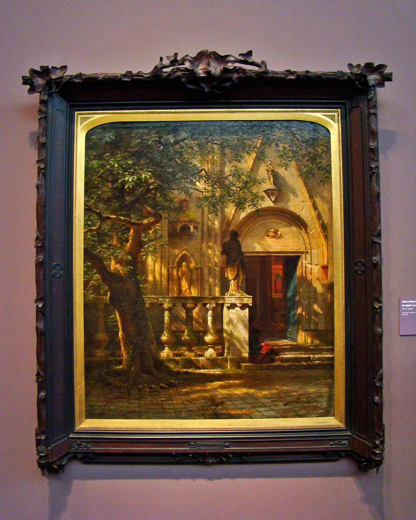 DSC03989 Albert Bierstadt - Sunlight and Shadow, 1862