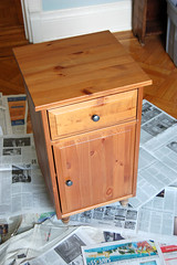 Silver Leaf Nightstand 1