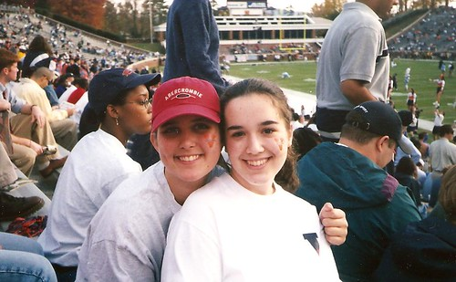 Me and my K, at a game 1st year