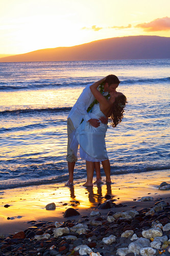 Erin and Steve - wedding sand