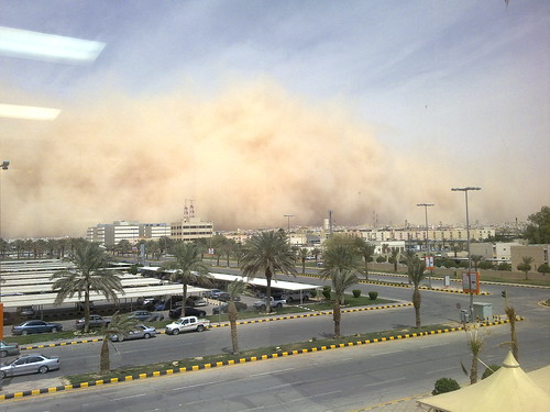Sandstorm in the making