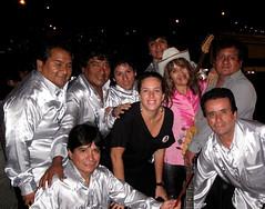 Los Destellos y Claudia Llosa