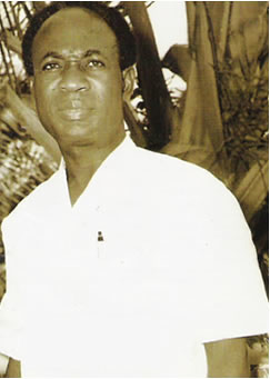 Co-President of Guinea Kwame Nkrumah in Conakry after the 1966 military coup in Ghana. Nkrumah lived in Guinea from 1966-1971. by Pan-African News Wire File Photos