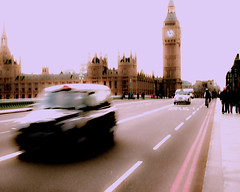 TAXI !!! (violinconcertono3) Tags: city urban blur london taxi parliament bigben landmark icon government westminister londonist 19sixty3