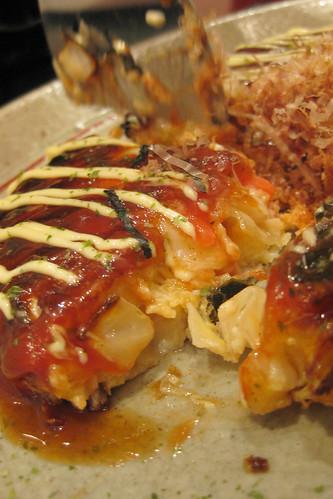 Okonomi - Yaki with seafood - IMG_2654