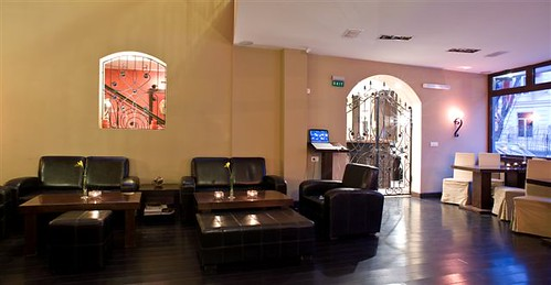 Lounge of Boutique Hotel in Bucharest - Le Boutique Hotel Moxa