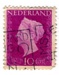 Netherlands Postage Stamp: Queen Wilhelmina Pink (karen horton) Tags: holland netherlands dutch vintage typography graphicdesign mail stamps nederland number ornament cameo postage ornamentation philatelic queenwilhelmina