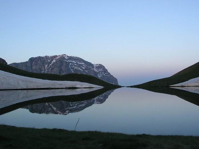 Ήπειρος - Ιωάννινα - Δήμος Τύμφης Δρακολίμνη Γκαμήλας - Ξημέρωμα