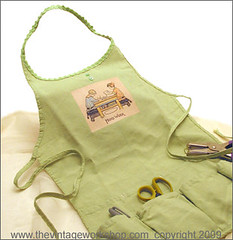 Hand Made Apron Applique