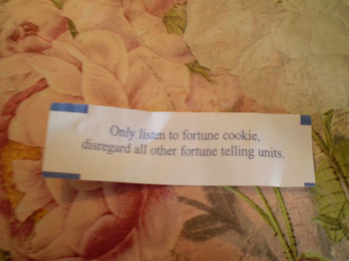 Very Strange Fortune Cookie Fortune