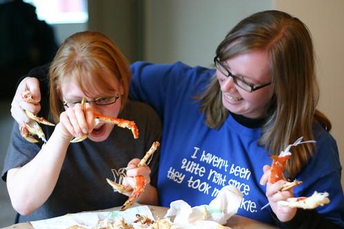 Sister Sister Crab Day