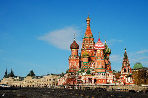 Saint Basil's Cathedral (聖瓦西里大教堂)