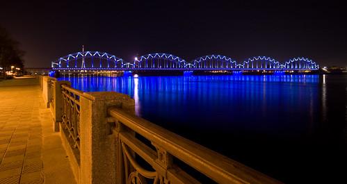 Train Bridge Riga