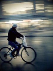 """Ride like the Wind... on a Rainy Day"" (Sion Fullana) Tags: urban newyork painterly blur rain bike bicycle lluvia rainyday streetphotography expressionist reflexions allrightsreserved iphone ridelikethewind urbannewyork guyonabike movmentblur iphonephotography iphoneshots sionfullana sionfullanasphotography iphoneography iphoneographer sionfullana throughthelensofaniphone"