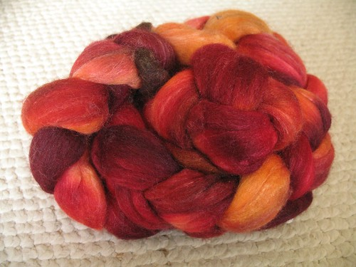 Neighborhood Fiber Co. Merino Silk Roving
