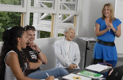 Languages International Students in Class Auckland New Zealand