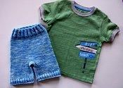 Beach Boy Set - shorties & t-shirt - medium