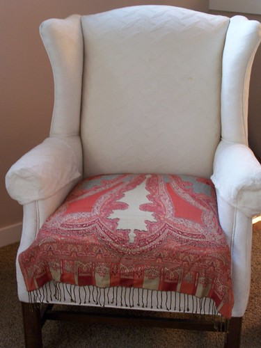 Quick & Easy Makeovers: The Chair Scarf