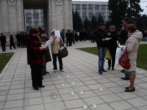 Femeile in rugaciune pentru oprirea violenţei