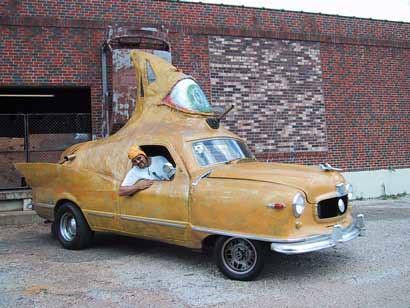 Tom Kennedy's Nash Art Car