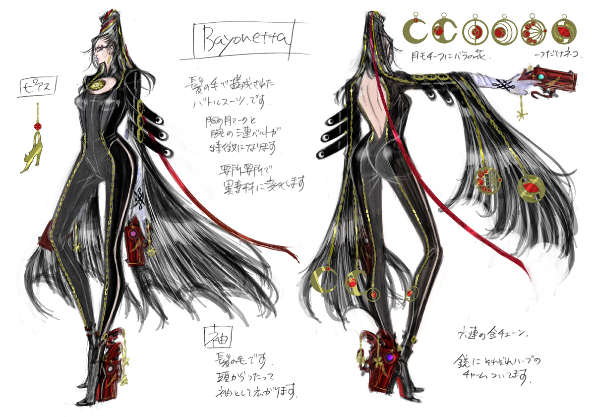 Bayonetta Gallery Huge Pictures Parka Blogs Go Back Gt For Chicken Wing Diagram Art