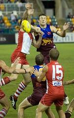 Lions v Swans AFL (C) 2009