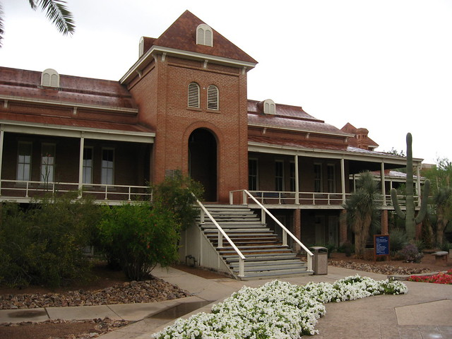 Old Main University of Arizona by Ken Lund