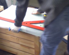 Cutting the glass 2 size