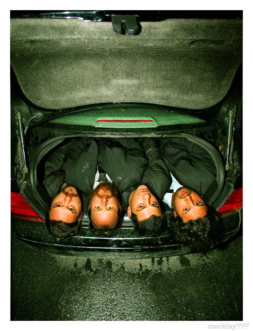 Dredg - Trunk Portrait in a Black VW Jetta