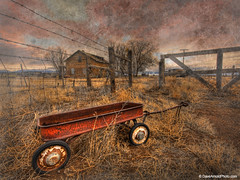 Left behind without remorse (Dave Arnold Photo) Tags: pictures ranch old red usa house west texture abandoned beautiful colo rural canon vintage fence wonderful children wagon toy photography us photo fantastic ruins perfect gate colorado photographer image photos antique farm arnold ruin picture pic images best ruina sanluisvalley photograph abandon vacant western co getty radioflyer breathtaking redwagon abandonedbuilding bestshot farmyard bestphoto westernusa westernus davearnold perfectpicture greatimage canonequipment davearnoldphoto davearnoldphotocom ranchyard arnoldd